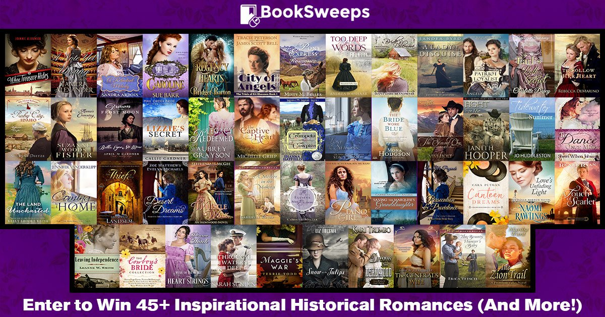 Booksweep Promo Inspirational Historical authors