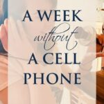 A week without a cell phone: how I survived the tragedy. with author Jennifer Crosswhite