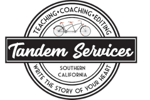 Tandem Services: Teaching, Coaching, Editing. Write the Story of Your Heart